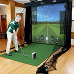 SKYTRAK™ Platinum Golf Simulator Package
